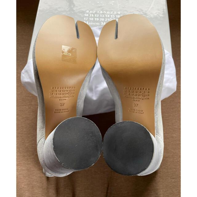 Maison Martin Margiela(マルタンマルジェラ)の20AW新品37 メゾン マルジェラ レディース  ペイント 足袋ブーツ タビ レディースの靴/シューズ(ブーツ)の商品写真