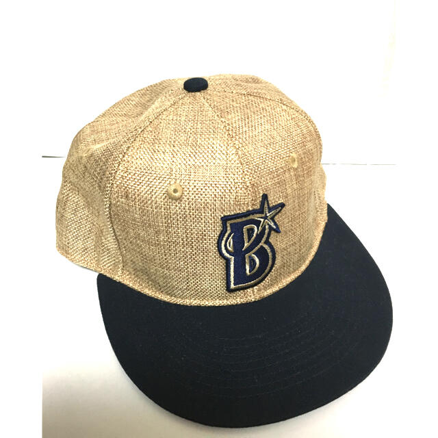 横浜DeNAベイスターズ(ヨコハマディーエヌエーベイスターズ)の【送料込】帽子 ベイスターズ  キャップ スポーツ/アウトドアの野球(応援グッズ)の商品写真