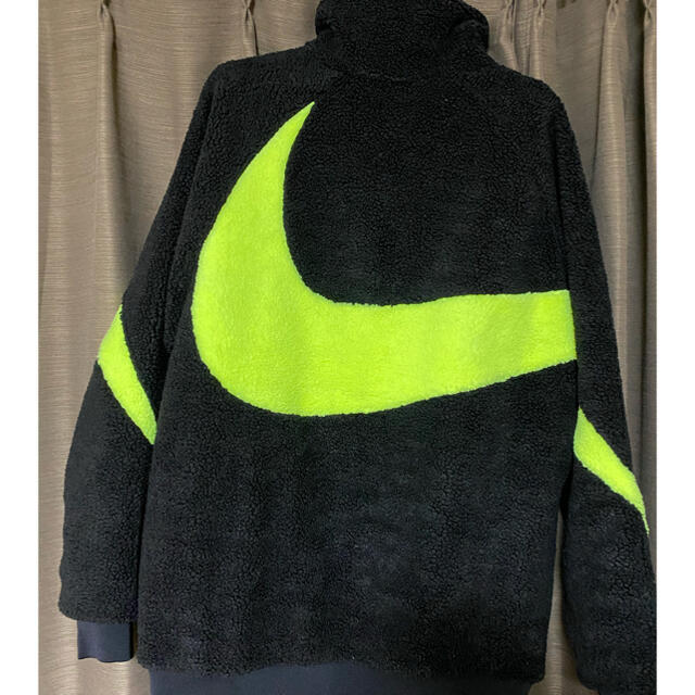 NIKE(ナイキ)のナイキ ボア リバーシブルジャケット Lサイズ メンズのジャケット/アウター(ブルゾン)の商品写真