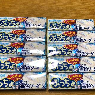 ユーハミカクトウ(UHA味覚糖)のUHA味覚糖 ぷっちょ 雪色ソーダ(菓子/デザート)