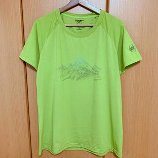 マムート(Mammut)のMAMMUT Tシャツ グリーン(Tシャツ/カットソー(半袖/袖なし))