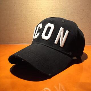 ディースクエアード(DSQUARED2)のディースクエアード ICON 帽子 キャップ(キャップ)