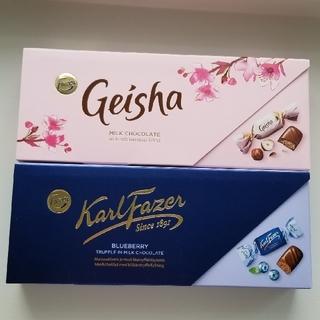 Fazer ファッツェル ゲイシャ ブルーベリー チョコレート フィンランド(菓子/デザート)