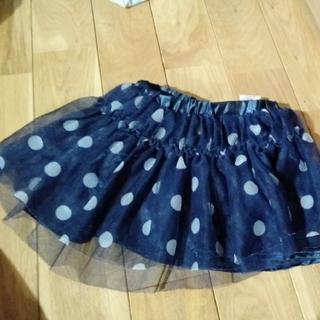 ニシマツヤ(西松屋)のチュールスカート パニエスカート 90cm 女の子 重ね履きスカート(スカート)
