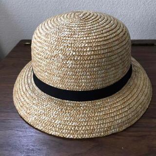 ネストローブ(nest Robe)のCLASKA 麦わら帽子 プリム (大人用) (麦わら帽子/ストローハット)