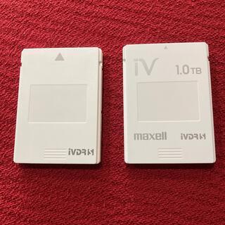 マクセル(maxell)のmaxell iVDRS 1.0TB    I•ODATA IVS 500GB(その他)