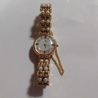 ミキモト(MIKIMOTO)のMIKIMOTO ミキモト パールウォッチ  腕時計  ブレス(腕時計)