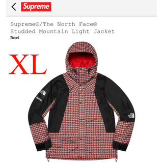 シュプリーム(Supreme)のXL Supreme studded Mountain Light Jacket(マウンテンパーカー)