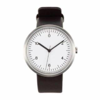 ムジルシリョウヒン(MUJI (無印良品))の【新品】MUJI 腕時計・Wall Clock・シルバー(腕時計(アナログ))