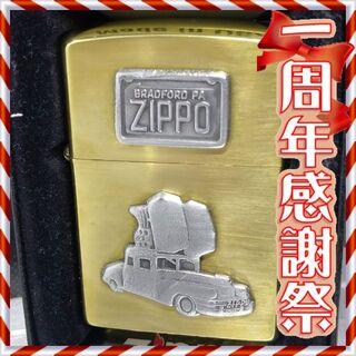 ジッポー(ZIPPO)の№326 ZIPPO ジッポーカー 真鍮無垢 ジッポー 1998年3月(タバコグッズ)