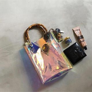 アメリヴィンテージ(Ameri VINTAGE)の未開封★Ameri Vintage MEDI AURORA CLEAR BAG(トートバッグ)