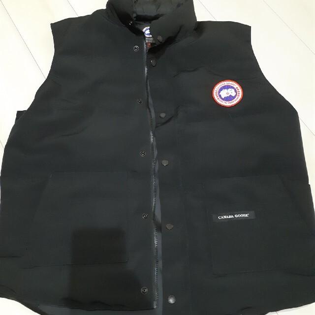 CANADA GOOSE(カナダグース)の格安‼️カナダグース ベスト ブラック XXL メンズのジャケット/アウター(ダウンベスト)の商品写真