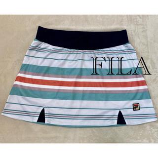 フィラ(FILA)のFILA ✨スコート ストライプ♪︎♪︎♪︎♪︎(ウェア)