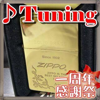 ジッポー(ZIPPO)の№427 ZIPPO SOLID BRASS SINCE 1932(タバコグッズ)