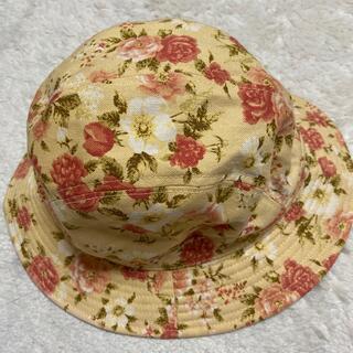 ケティ(ketty)のケティ💖黄色にお花柄がかわいい帽子💕未使用・ピンクハウス好きな方にも(ハット)
