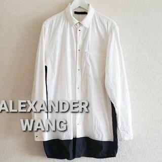 アレキサンダーワン(Alexander Wang)のALEXANDER WANG ドレスシャツsize48(シャツ)