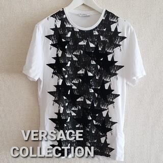 ヴェルサーチ(VERSACE)のVERSACE COLLECTION スター柄TシャツsizeS(シャツ)
