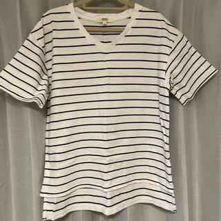 オゾック(OZOC)のTシャツボーダー(Tシャツ(半袖/袖なし))
