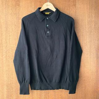 テンダーロイン(TENDERLOIN)のTENDERLOIN T-POROKNIT LONG コットンニット ポロシャツ(ポロシャツ)