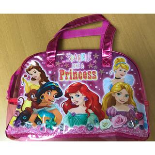 ディズニー(Disney)の値下げしました プリンセス ビニールバッグ(トートバッグ)