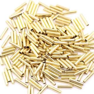 込 ゴールド アグレット 靴紐 シューレース チップ パイプ 先端 金具(スニーカー)