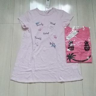 サンカンシオン(3can4on)の160 チュニック&Tシャツ 新品(Tシャツ/カットソー)