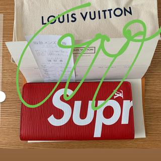 シュプリーム(Supreme)のおまけ付き シュプリーム ヴィトン コラボ 財布(長財布)