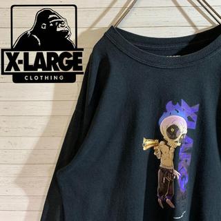 XLARGE - 【X-LARGE】エクストララージ 希少デザイン デカロゴ ロンT 長袖