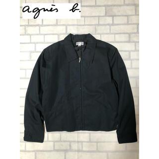 agnes b. - Agnes.b スイングトップ ブルゾン ジャケット 2 ブラック