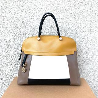 フルラ(Furla)のLサイズ パイパー 完売マルチカラー 正規品 入手困難 大容量(ハンドバッグ)