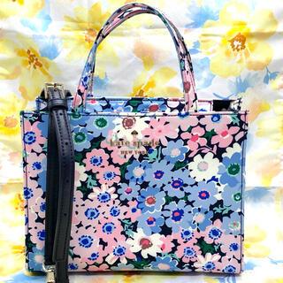 ケイトスペードニューヨーク(kate spade new york)の【春色いっぱい】ケイトスペード ニューヨーク 2way 花柄(ハンドバッグ)