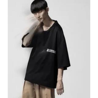 アンリアレイジ(ANREALAGE)のANREALAGE(アンリアレイジ) ZOOM ONE POINT Tシャツ(Tシャツ/カットソー(半袖/袖なし))