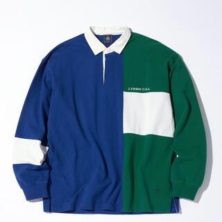 ジェイプレス(J.PRESS)の【新品】J.PRESS メンズ ポロシャツ ラグジャー ラガーシャツ  L XL(ポロシャツ)