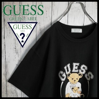 GUESS - 【希少デザイン】GUESS グリーンレーベル ゲスベア ビッグサイズ Tシャツ