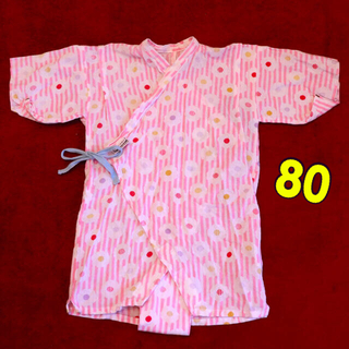 ソウソウ(SOU・SOU)の甚平 80 ♡ sousou ロンパース 日本製(甚平/浴衣)