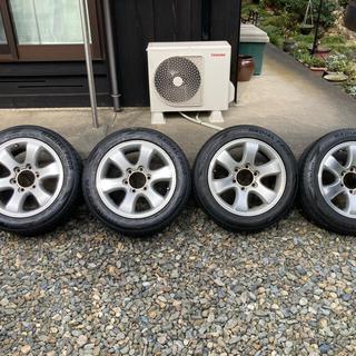 トヨタ(トヨタ)の200系 ハイエース トヨタ ランクル プラド 120系 純正 (タイヤ・ホイールセット)