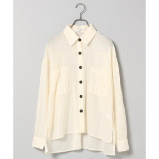 ジーナシス(JEANASIS)のJEANASIS シアーポケットシャツジャケット(シャツ/ブラウス(長袖/七分))