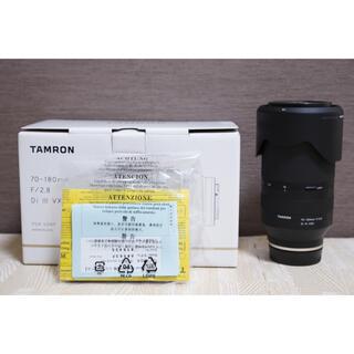 タムロン(TAMRON)のTamron 70-180mm f2.8 Di III VXD sony用(ミラーレス一眼)