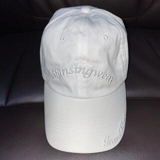 マンシングウェア(Munsingwear)のメンズ ホワイトキャップ(キャップ)