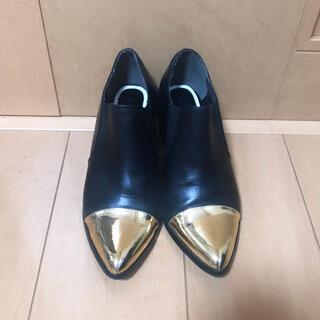 ムルーア(MURUA)のMURUA☆メタルミドルブーツ ☆37☆ブーティー(ローファー/革靴)