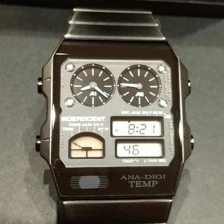シチズン(CITIZEN)のアナデジテンプ インディペンデント シチズン BN1-046-51(腕時計(デジタル))