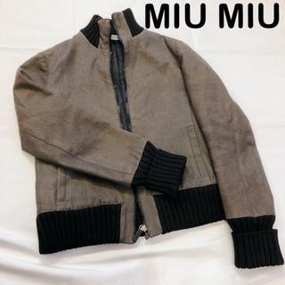 miumiu - MIU MIU ブルゾン Mサイズ