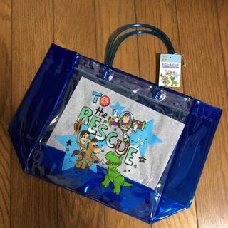 ディズニー(Disney)のトイストーリー ビニールバッグ プールバッグ 子どもバッグ(トートバッグ)