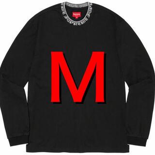 【Mサイズ】Old English Collar Logo L/S Top(Tシャツ/カットソー(七分/長袖))