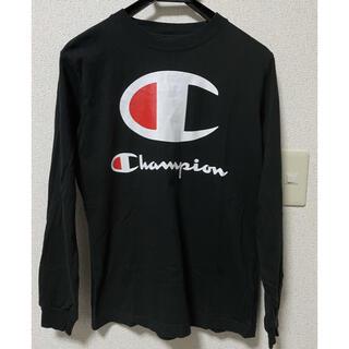 Champion - チャンピオン ビッグロゴTシャツ S
