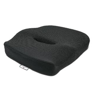 クッション低反発 座布団 通気性抜群 健康座布団 骨盤サポート ブラック(クッション)