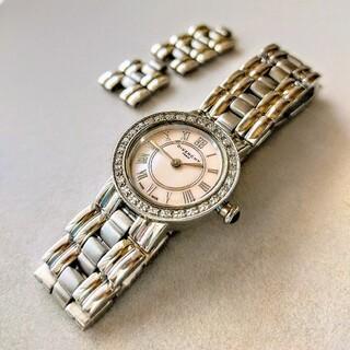 ジバンシィ(GIVENCHY)のジバンシイ♢アプサラス♢ダイヤとピンクシェル♢レディース腕時計(腕時計)