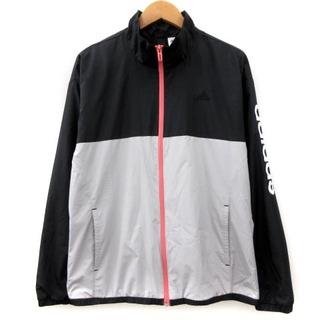アディダス(adidas)のアディダス ジャケット ジャージ スポーツ ウェア バイカラー 黒 OT(その他)