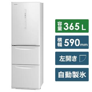 パナソニック(Panasonic)のPanasonic NR-C370CL-W 冷蔵庫(冷蔵庫)