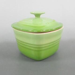 ルクルーゼ(LE CREUSET)のルクルーゼ 食器新品同様  ライトグリーン(その他)